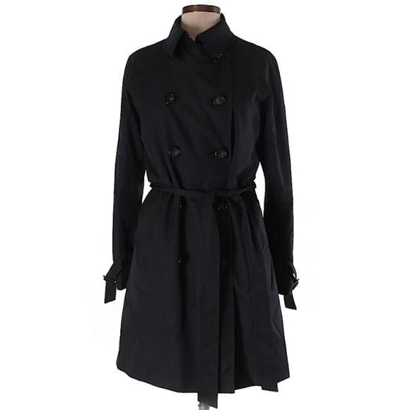 3e1d24297 Uniqlo Black Trench Coat